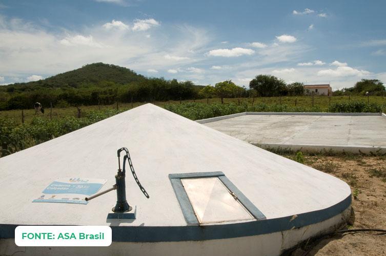 Cisterna Calçadão
