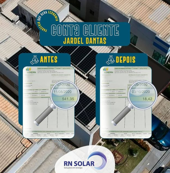 Gerador de Energia Solar OnGrid - 500 kWh - Contas de energia até R$ 450,00